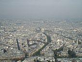 Arco de Triunfo desde Torre Eiffel