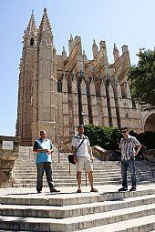 Perotes en la Catedral de Mallorca