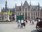 En el Ayuntamiento de Brujas, Bélgica