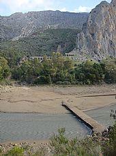 Puente Sumergido (El Chorro)