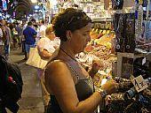 Paqui Asencio en el Gran Bazar de las Especias Estambul 2011