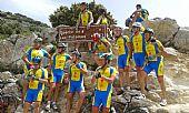Ciclistas en Grazalema