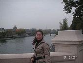 Junto al Sena y Torre Eiffel al fondo