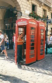 Típica foto en Londres