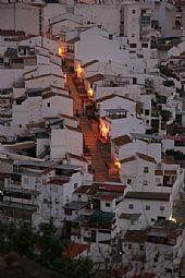 Calle Negrillos desde Las Torres