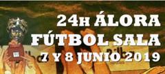 Cuadrante 24H Álora Fútbol Sala, 7 Y 8 junio 2019