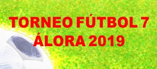 Calendario del Torneo Fútbol 7 Álora 2019