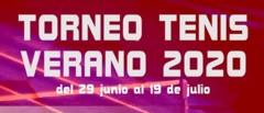 TORNEO TENIS VERANO 2020