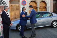 El presidente de la Junta de Andalucía visita Álora