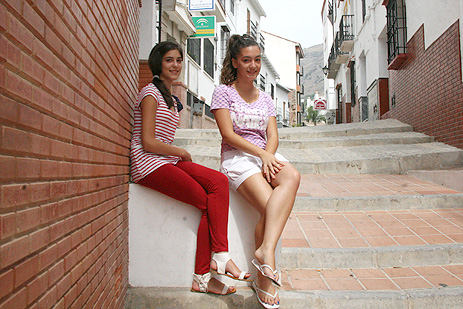 Mireya Aranda y Sandra Contreras