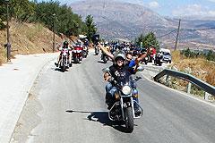 """Cerca de 400 personas participan en la II ruta motera """"Aguiluchos Álora"""""""