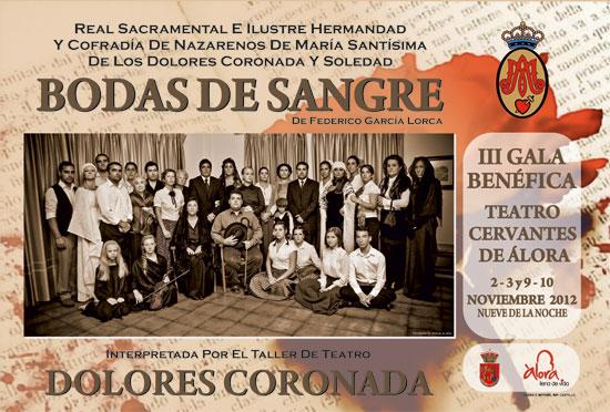 Bodas de Sangre (1933) fue la primera de la trilogía que, junto a Yerma y La Casa de Bernarda Alba, consagró a Federico García Lorca en el mundo del
