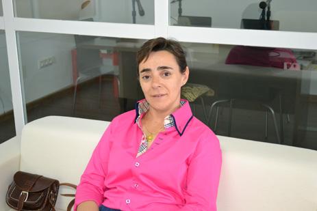 Yoli Fernández, cantaora y perota
