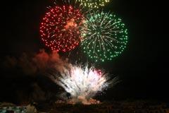 Los fuegos Artificiales ponen punto final a la feria 2014