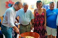 Sopas Perotas y Helado de avellanas protagonistas en la Feria de M�laga