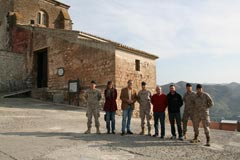 La Brigada Paracaidista visita �lora