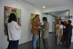 El Centro de Salud estrena la exposici�n Artistas Independientes