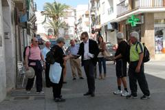�lora atrae a cuatro caminantes desde la capital