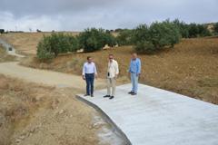 Avanzan los trabajos de acondicionamiento en los caminos rurales