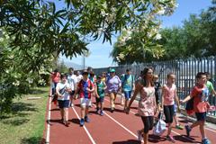Los colegios participan en los Juegos Deportivos