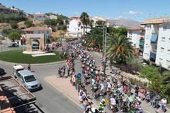 �lora se vuelca con la Vuelta