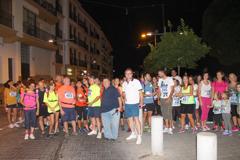 M�s de 250 personas participan en la I Luna llena Dolores Coronada