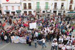 El D�a de la Paz re�ne a centenares de escolares
