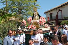 La Estaci�n celebra las fiestas en honor a Ntra. Se�ora Virgen de la Cabeza