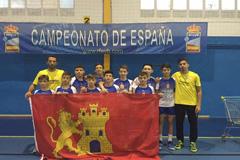 El Club Voleibol �lora vuelve a brillar en un Campeonato Nacional
