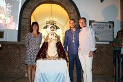 La Hermandad Virgen de la Cabeza de �lora celebra la aparici�n mariana