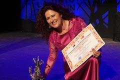 Antonia Contreras toca la gloria flamenca con la L�mpara Minera