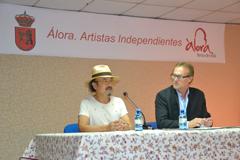 Inauguraci�n de la V Exposici�n �lora Artistas Independientes