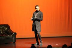 Ángel Garó cierra el X Festival de Teatro Aficionado