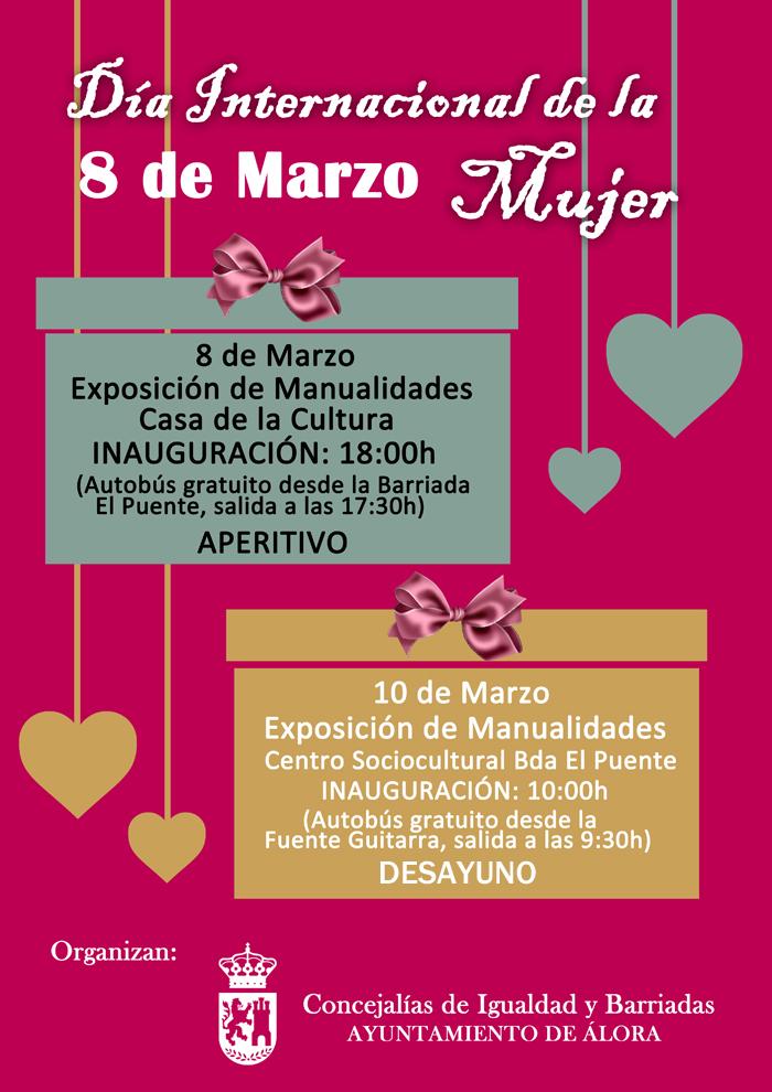 Exposiciones De Manualidades Dia De La Mujer