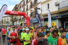 Gran ambiente en el 19º Medio Maratón de Álora
