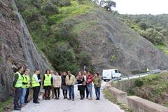 La Junta invierte 937.000 € en la mejora de la carretera Álora-El Chorro