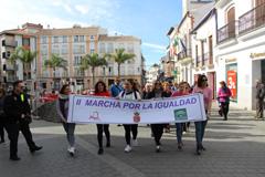 Álora celebra la segunda Marcha por la Igualdad