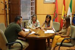 Reunión con el director del Centro de Protección de Menores La Fanega