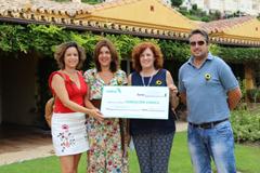 OMEPA entrega 1.500€ a CUDECA