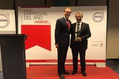 Vázquez Olmedo, elegida empresa del año en el transporte discrecional