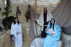 El Nacimiento de Jesús cobra vida en las Casas Nuevas
