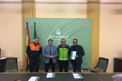 Protección Civil de Álora recibe una subvención de la Junta de Andalucía