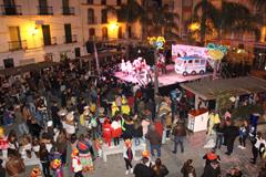 Álora se viste de Carnaval