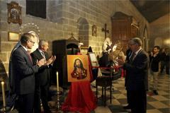 El Huerto presenta el cartel que anuncia su salida procesional