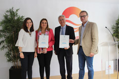 El Caminito del Rey recibe el certificado 'Biosphere'