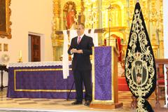 Tomás Suárez pronuncia el XXXII Pregón de la Semana Santa de Álora