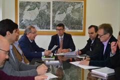 Primeros pasos para que Diputaci�n gestione la depuradora del Guadalhorce