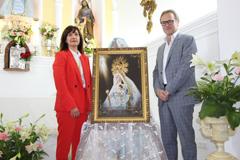 La Virgen de la Cabeza presenta el cartel anunciador de los cultos