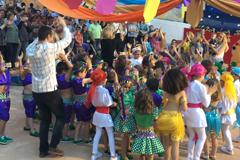 El Colegio Arco Iris pone fin al curso con una divertida fiesta