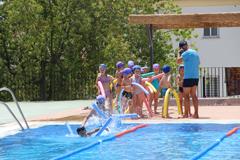 Arranca la campaña de natación y la temporada de baños en Álora